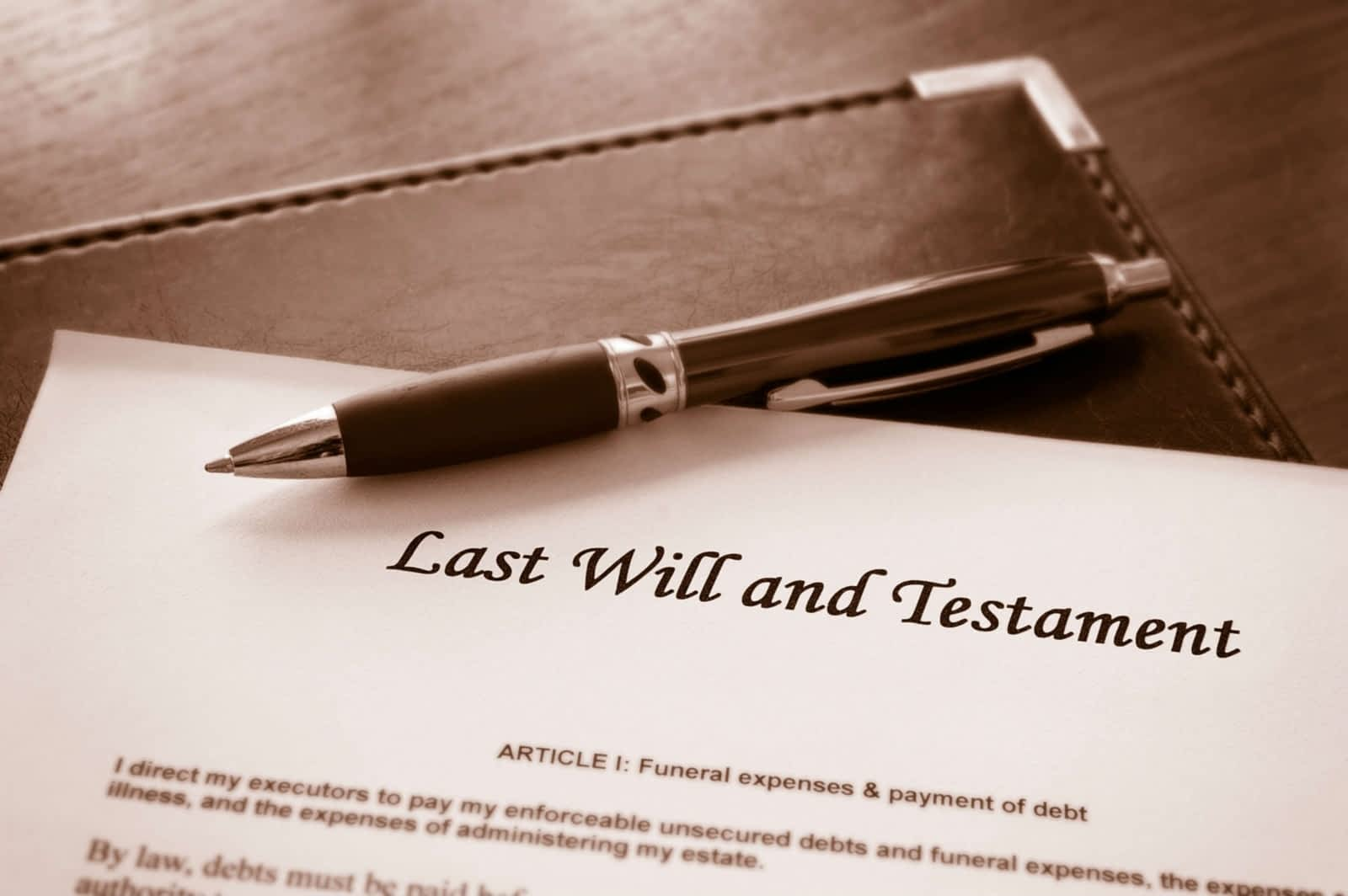 Last Will And Testament in Knoxville, Tennessee | Landry & Azevedo Attorneys At Law